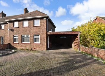 Thumbnail 3 bed end terrace house for sale in St. Davids Crescent, Gravesend, Kent