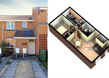 Thumbnail 1 bed maisonette to rent in Raleigh Close, Churchdown, Gloucester