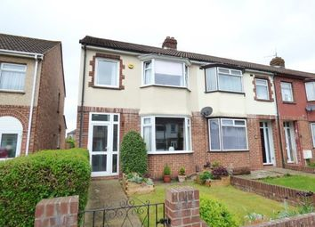 Thumbnail 3 bedroom end terrace house for sale in Elson, Gosport, Hampshire