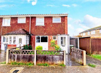 3 bed end terrace house for sale in Wheatcroft, Wick, Littlehampton BN17