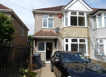 Thumbnail 3 bed end terrace house to rent in Cranleigh Gardens, Southall, Middlesex