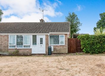 Thumbnail 2 bed terraced bungalow for sale in Castle Close, Weeting, Brandon