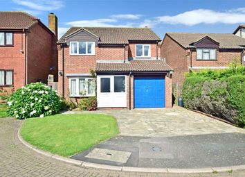 Thumbnail 4 bed detached house for sale in Bowman Close, Walderslade, Chatham, Kent