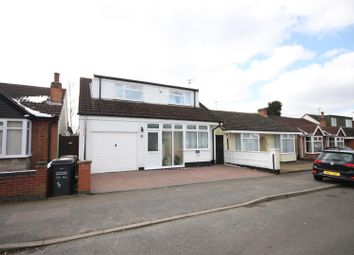 Thumbnail 3 bed detached bungalow for sale in Brighton Avenue, Syston, Leicester
