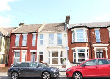 Thumbnail 3 bed terraced house for sale in Marlborough Road, Gillingham, Kent.