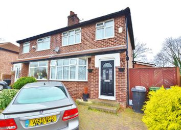 Thumbnail 3 bed semi-detached house for sale in Newbury Drive, Urmston, Manchester