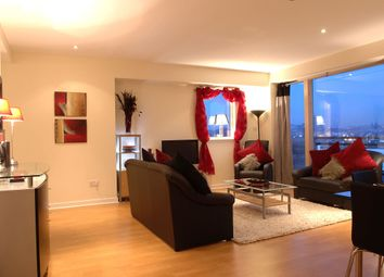 Thumbnail 2 bed flat to rent in Glasgow Harbour Terraces, Glasgow