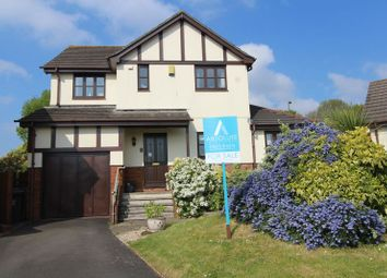 Thumbnail 4 bed detached house for sale in Shetland Close, Torquay