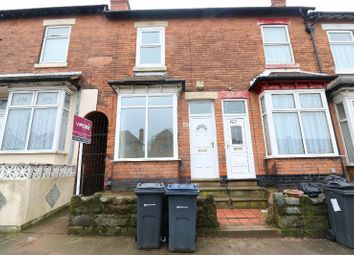 Thumbnail Terraced house for sale in Farnham Road, Handsworth, West Midlands