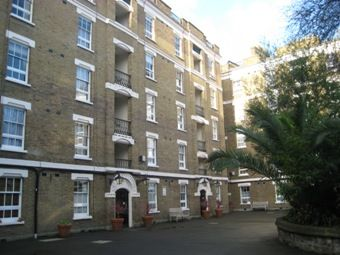Thumbnail 1 bedroom flat to rent in Holbein Place, London