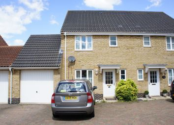 Thumbnail 3 bed semi-detached house to rent in Emmerson Way, Hadleigh, Ipswich, Suffolk