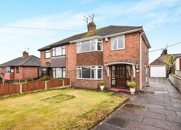 Thumbnail 3 bed semi-detached house for sale in Greenside Avenue, Stockton Brook, Stoke-On-Trent