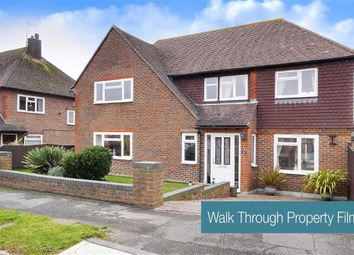 Thumbnail 3 bed detached house for sale in Hawkswood Drive, Hailsham