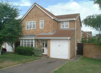 Thumbnail 4 bedroom detached house to rent in Fairey Fox Drive, Mildenhall