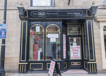 Thumbnail Retail premises to let in Bolton Street, Ramsbottom, Bury