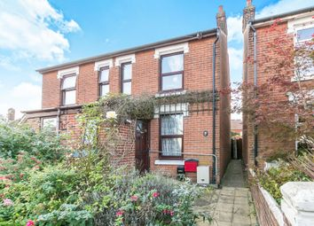 Thumbnail 3 bed semi-detached house for sale in Halstead Road, Colchester