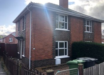 Thumbnail 2 bed semi-detached house to rent in Salters Road, Exeter