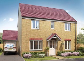 "Thumbnail 4 bed detached house for sale in ""The Chedworth"" at Bridgend Road, Bryncae, Llanharan, Pontyclun"