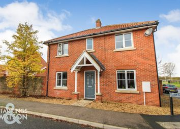 Thumbnail 3 bed detached house for sale in Peregrine Mews, Cringleford, Norwich