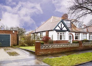 Thumbnail 3 bedroom semi-detached bungalow for sale in Victoria Avenue West, Off Queen Alexandra Road, Sunderland
