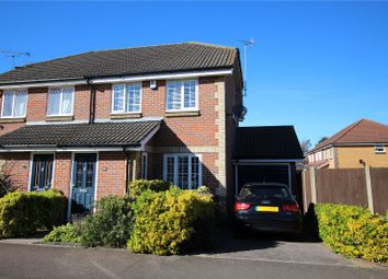 Thumbnail 3 bed semi-detached house for sale in Canada Road, Howbury Park, Slade Green, Kent