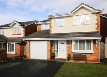 Thumbnail 4 bed detached house for sale in Leadale Close, Standish, Wigan