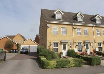 Thumbnail 4 bed end terrace house for sale in Lathwell Way, Leighton Buzzard
