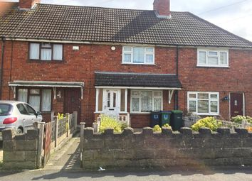 Thumbnail 2 bed terraced house for sale in Manor Road, Wednesbury, West Midlands
