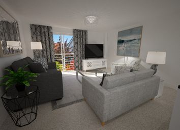Thumbnail 2 bed flat for sale in King George Court, Warwick Bridge, Carlisle