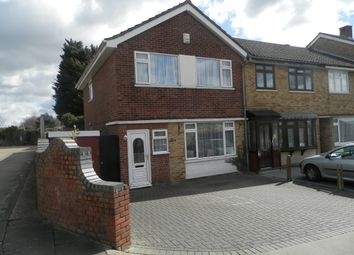 Thumbnail 3 bedroom end terrace house for sale in Hillrise Road, Collier Row