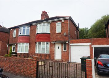 Thumbnail 2 bedroom semi-detached house for sale in Kentmere Avenue, Newcastle Upon Tyne