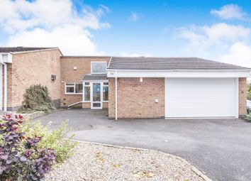 Thumbnail 2 bed semi-detached bungalow for sale in Holmleigh Gardens, Thurnby, Leicester