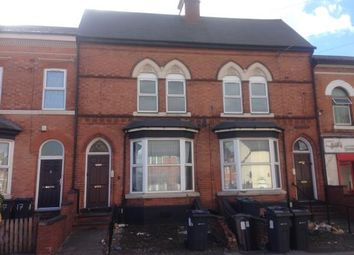 Thumbnail 2 bed terraced house for sale in Flats 1 & 2, 19 Crompton Road, Handsworth, Birmingham