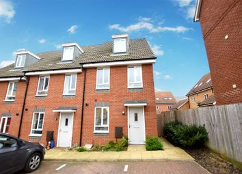 Thumbnail 3 bedroom town house for sale in Costessey, Norwich