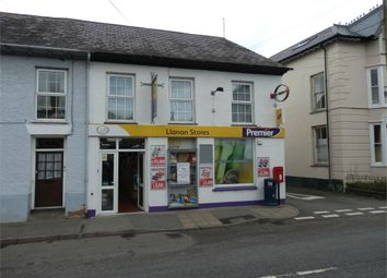 Thumbnail Commercial property for sale in Llanon Premier Shop And Post Office, Llanon, Ceredigion