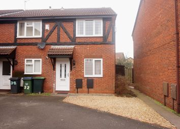 Thumbnail 2 bedroom terraced house for sale in Harebell Close, Walsall