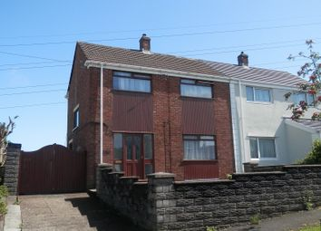 Thumbnail 3 bed semi-detached house for sale in Lan Coed, Winch Wen, Swansea.