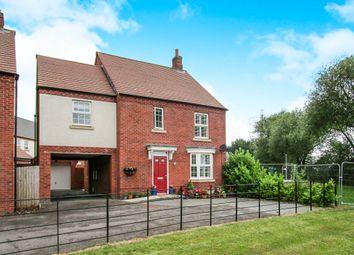 Thumbnail 4 bed detached house for sale in Merchantman Mews, Castle Donington, Derby