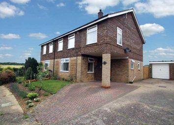 Thumbnail 4 bed semi-detached house for sale in Weyland Road, Witnesham, Ipswich