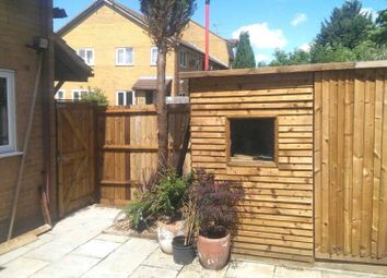 Thumbnail 1 bed town house for sale in Marsom Grove, Luton