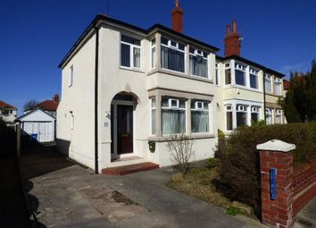 Thumbnail 3 bed semi-detached house to rent in Merlyn Road, Thornton-Cleveleys, Lancashire