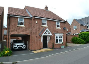 Thumbnail 4 bedroom detached house for sale in Champlain Way, Earl Shilton, Leicester