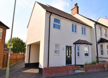 Thumbnail 3 bedroom semi-detached house for sale in Ventnor Terrace, Newport Road, Aldershot