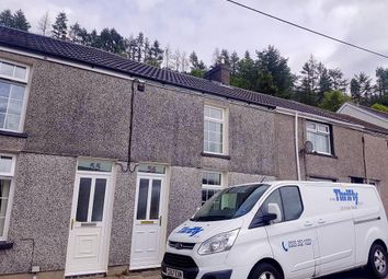 Thumbnail 2 bed terraced house to rent in Long Row, Blaenllechau, Ferndale