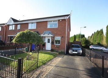 Thumbnail 2 bedroom town house for sale in Aldersea Close, Burslem, Stoke-On-Trent