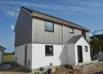 Thumbnail 4 bed detached house for sale in Church Road, Mabe Burnthouse, Penryn