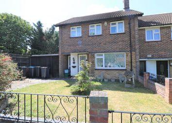 Thumbnail 3 bed end terrace house for sale in Tilford Avenue, New Addington, Croydon