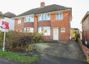 Thumbnail 3 bed semi-detached house for sale in Newbold Back Lane, Chesterfield