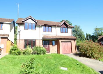 Thumbnail 5 bed detached house for sale in Ffos-Y-Fran, Bassaleg, Newport