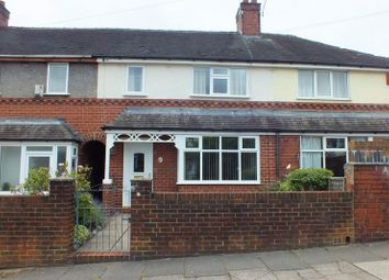 Thumbnail 2 bedroom town house for sale in Beckton Avenue, Tunstall, Stoke-On-Trent